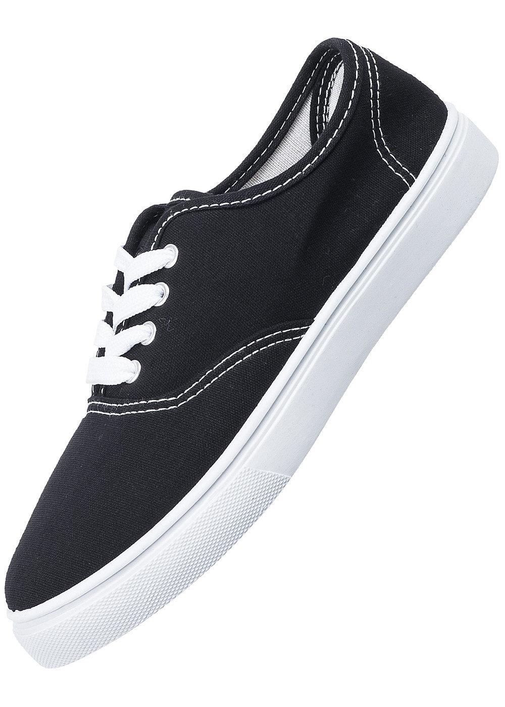 tally weijl damen schuhe aflcheese hh sneaker flach schwarz weiss ebay. Black Bedroom Furniture Sets. Home Design Ideas