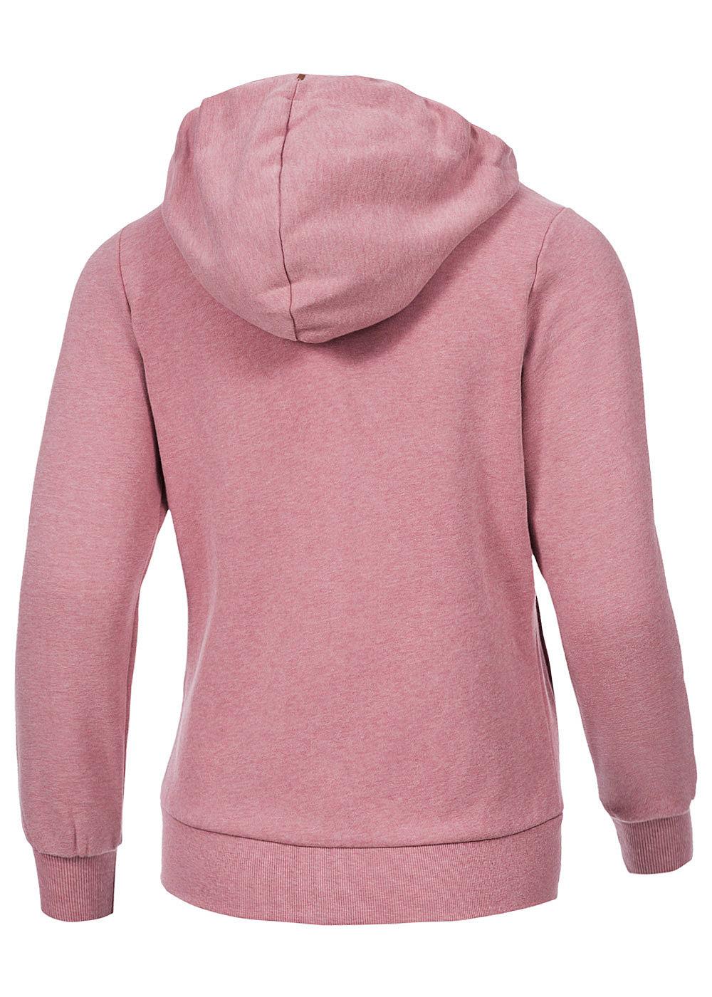 only damen zip hoodie merle 15107317 asym zipper kapuze 2. Black Bedroom Furniture Sets. Home Design Ideas