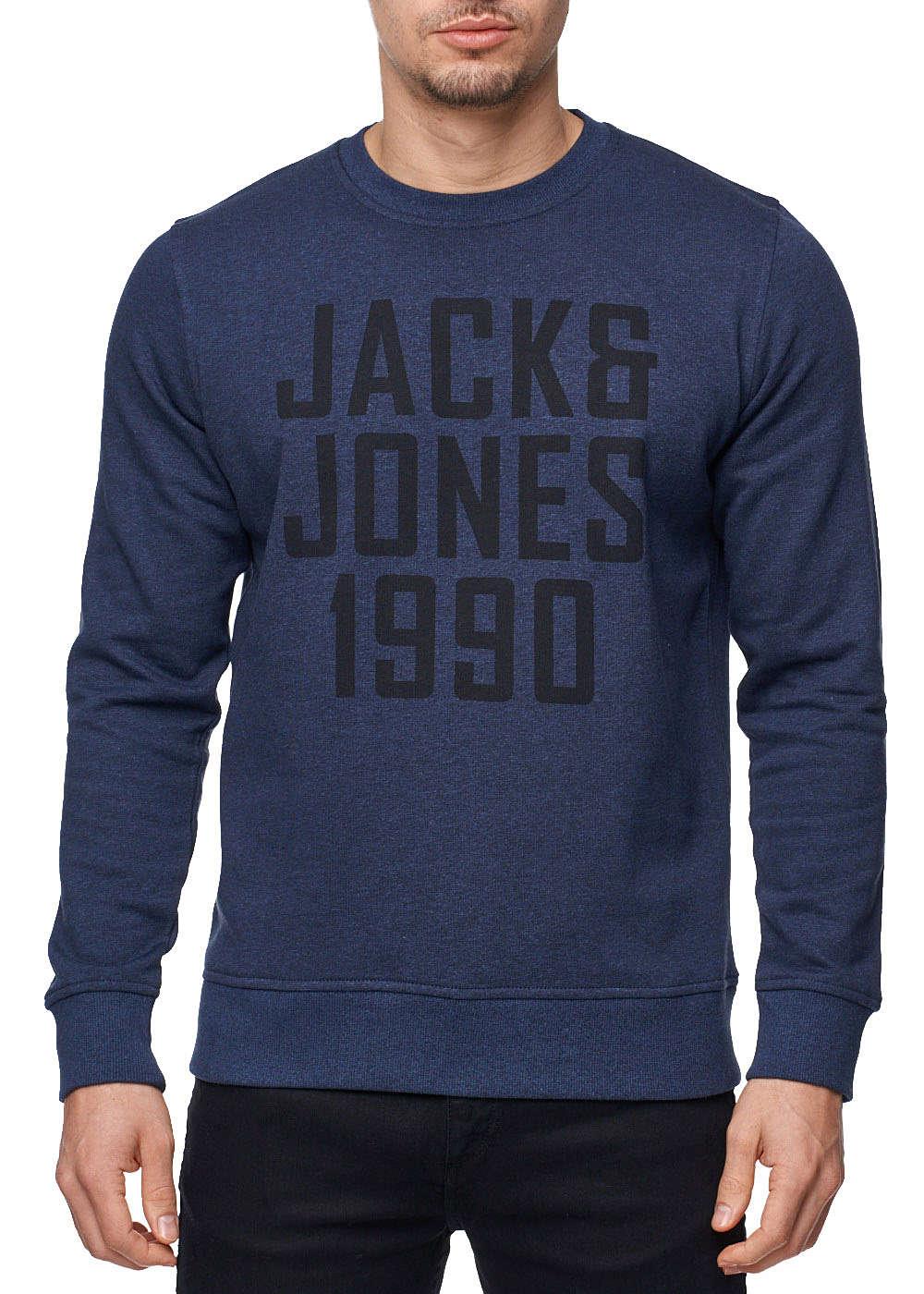 jack and jones herren sweater crew neck regular fit 1990. Black Bedroom Furniture Sets. Home Design Ideas