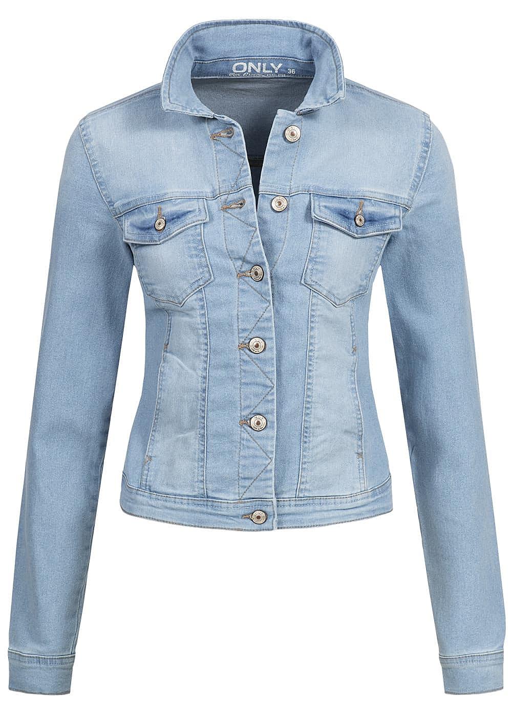 only damen jeans jacke noos 2 taschen 2 brusttaschen. Black Bedroom Furniture Sets. Home Design Ideas