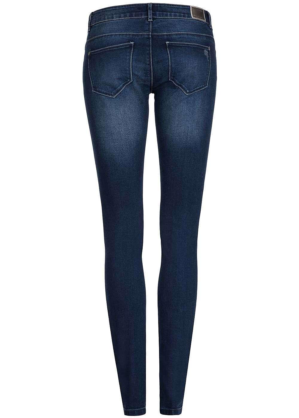 only damen skinny jeans super low waist destroy look 5. Black Bedroom Furniture Sets. Home Design Ideas