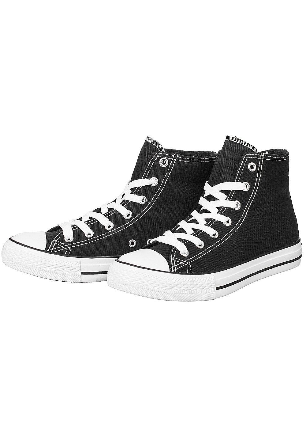 seventyseven lifestyle schuh damen high sneaker zum schn ren schwarz 77onlineshop. Black Bedroom Furniture Sets. Home Design Ideas