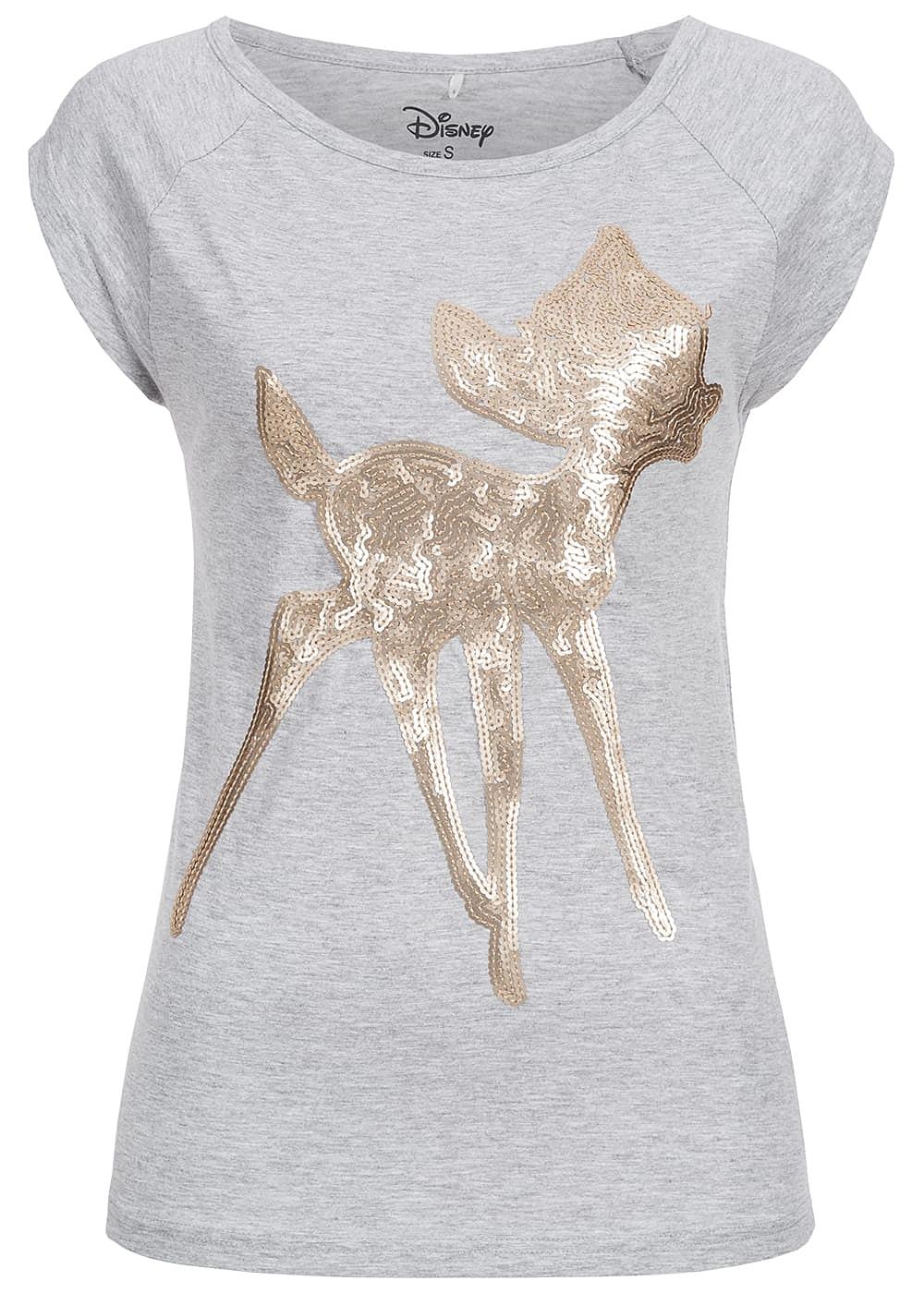 eight2nine damen shirt kurzarm bambi pailletten by. Black Bedroom Furniture Sets. Home Design Ideas