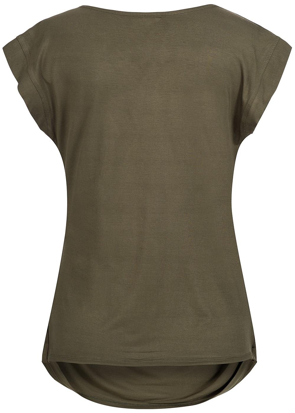 seventyseven lifestyle t shirt damen shirt mit kette. Black Bedroom Furniture Sets. Home Design Ideas