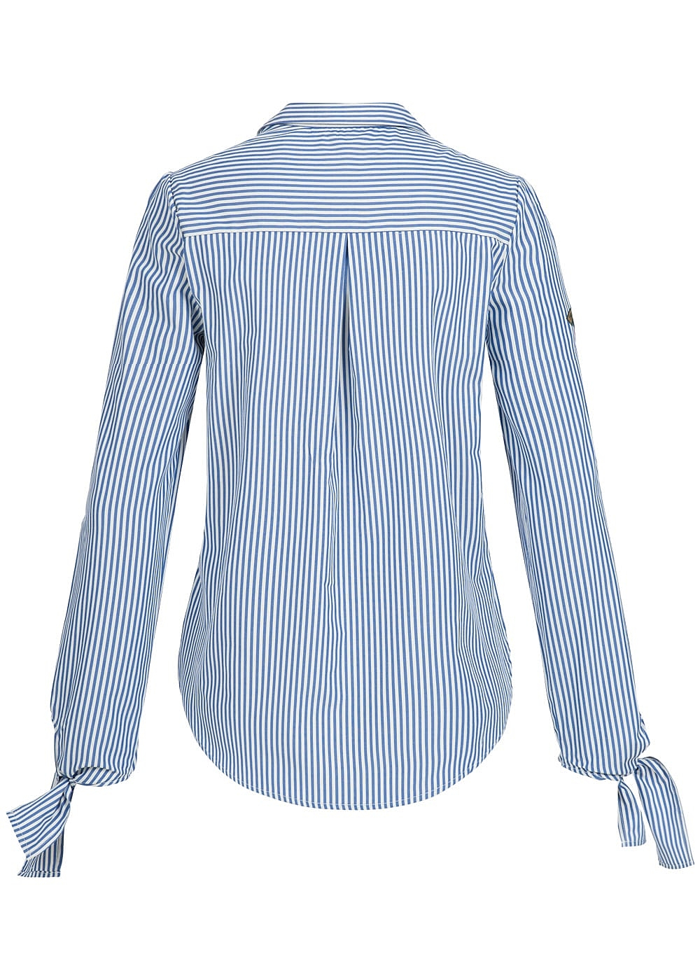 hailys damen bluse 3 4 rmel zum binden 2 brusttaschen. Black Bedroom Furniture Sets. Home Design Ideas