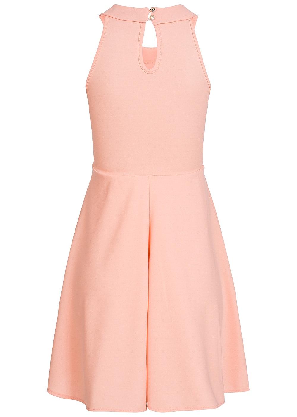 styleboom fashion damen mini kleid brustpads vorne volant look rosa 77onlineshop. Black Bedroom Furniture Sets. Home Design Ideas