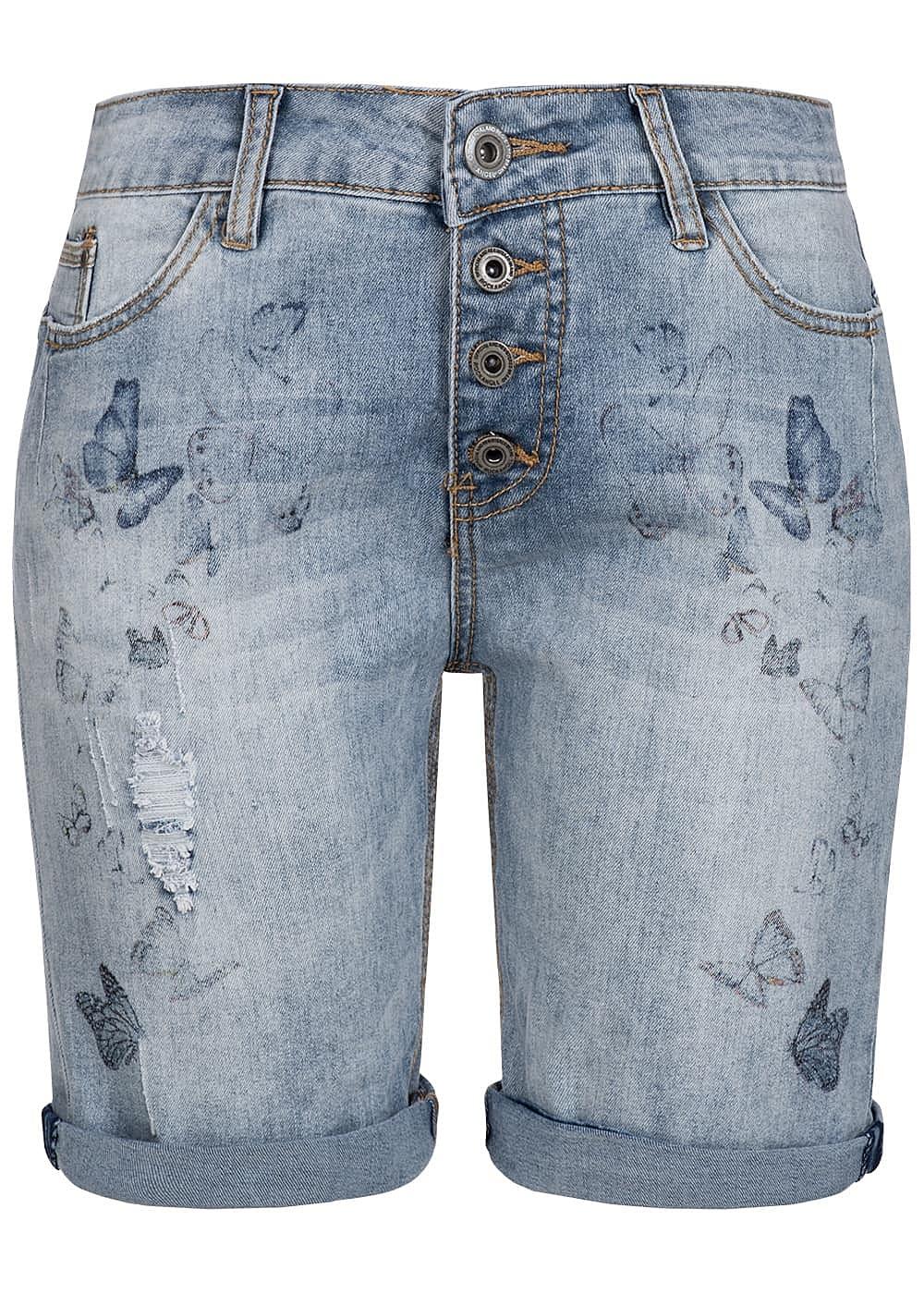 eight2nine damen bermuda jeans short 5 pockets. Black Bedroom Furniture Sets. Home Design Ideas
