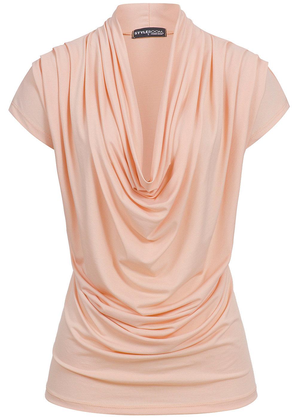 styleboom fashion damen top rosa 77onlineshop. Black Bedroom Furniture Sets. Home Design Ideas