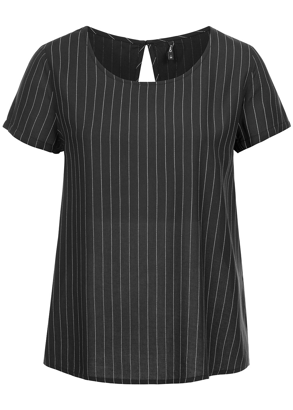 only damen blusen top gestreift noos schwarz weiss 77onlineshop. Black Bedroom Furniture Sets. Home Design Ideas