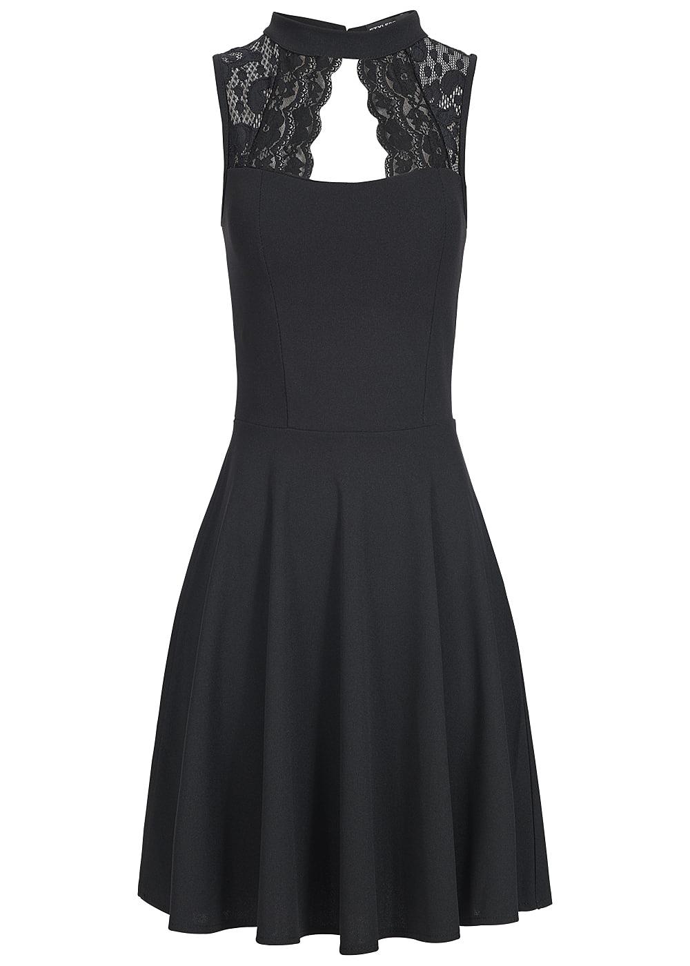 Styleboom Fashion Damen Kleid Spitze oben Brustpads ...