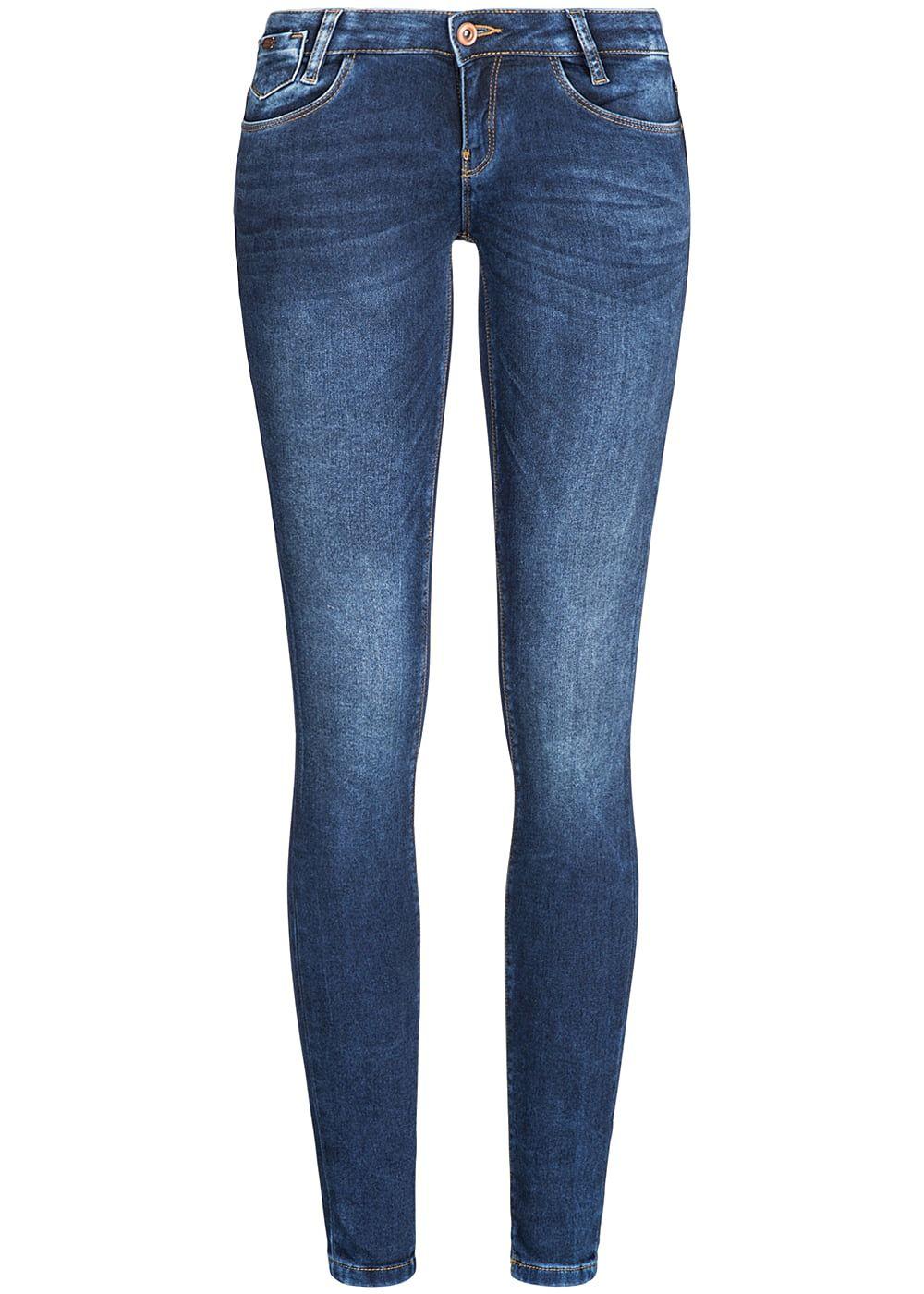 only damen jeans hose super low skinny 5 pockets stretch dunkel blau denim 77onlineshop. Black Bedroom Furniture Sets. Home Design Ideas