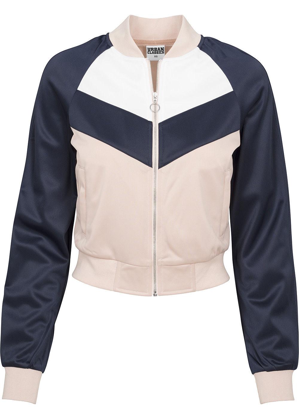Seventyseven Lifestyle Damen Jeans Jacke 2 Brusttaschen 2 Taschen rosa
