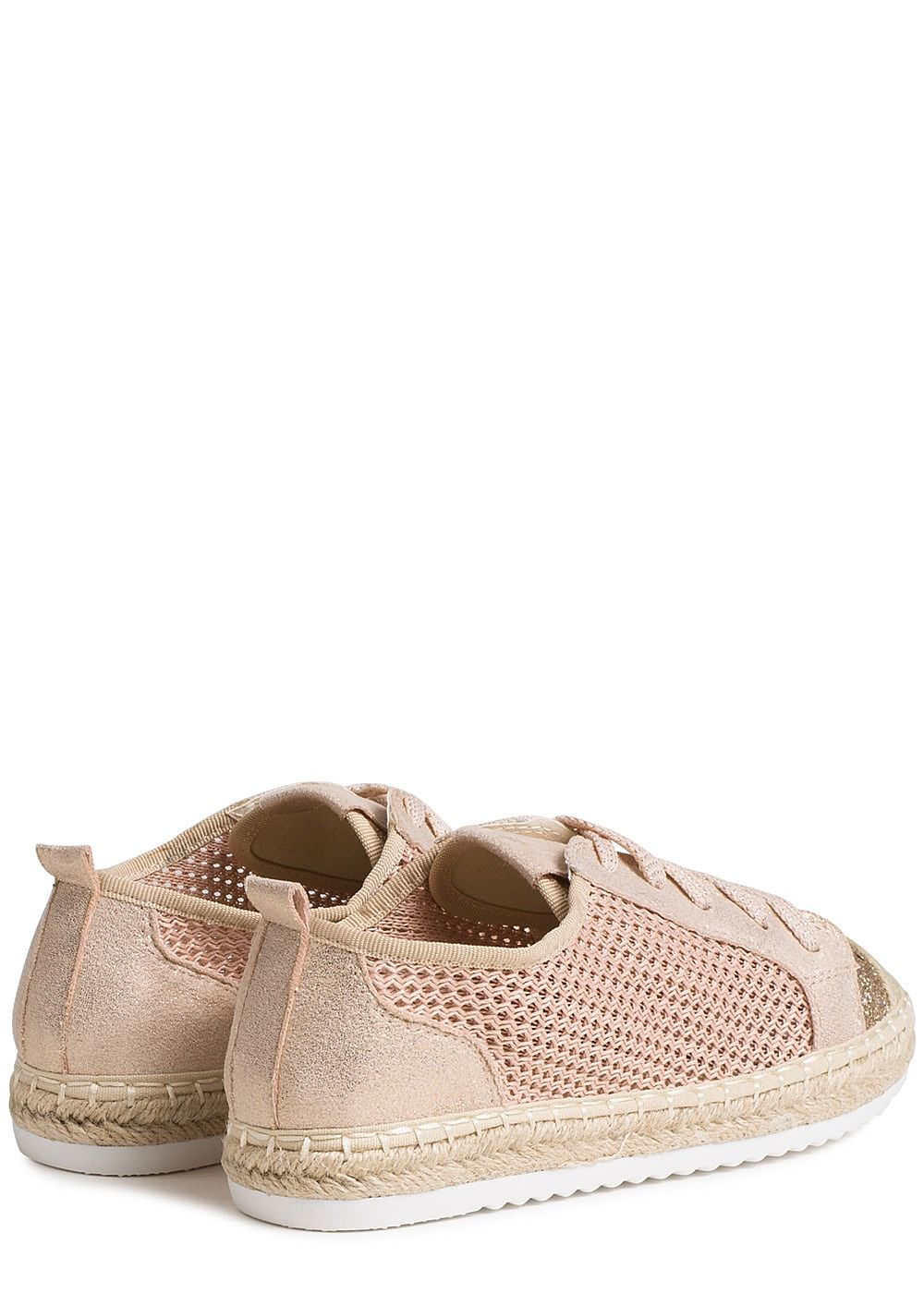 9dd1034abb36c1 Seventyseven Lifestyle Schuh Damen Sommer Sneaker Glitzer hell rosa ...