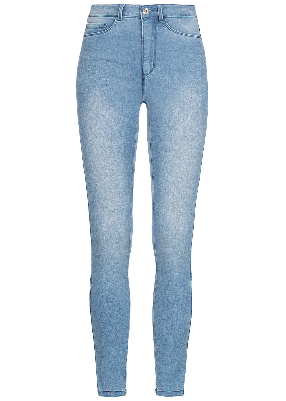 only damen skinny jeans hose 5 pockets high waist hell. Black Bedroom Furniture Sets. Home Design Ideas