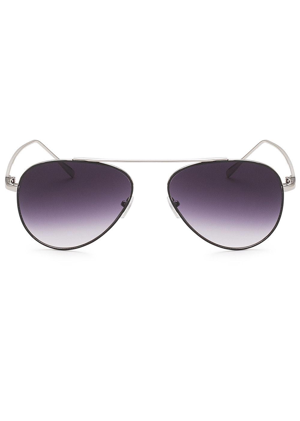 hailys damen sonnenbrille uv schutz 400 silber schwarz. Black Bedroom Furniture Sets. Home Design Ideas