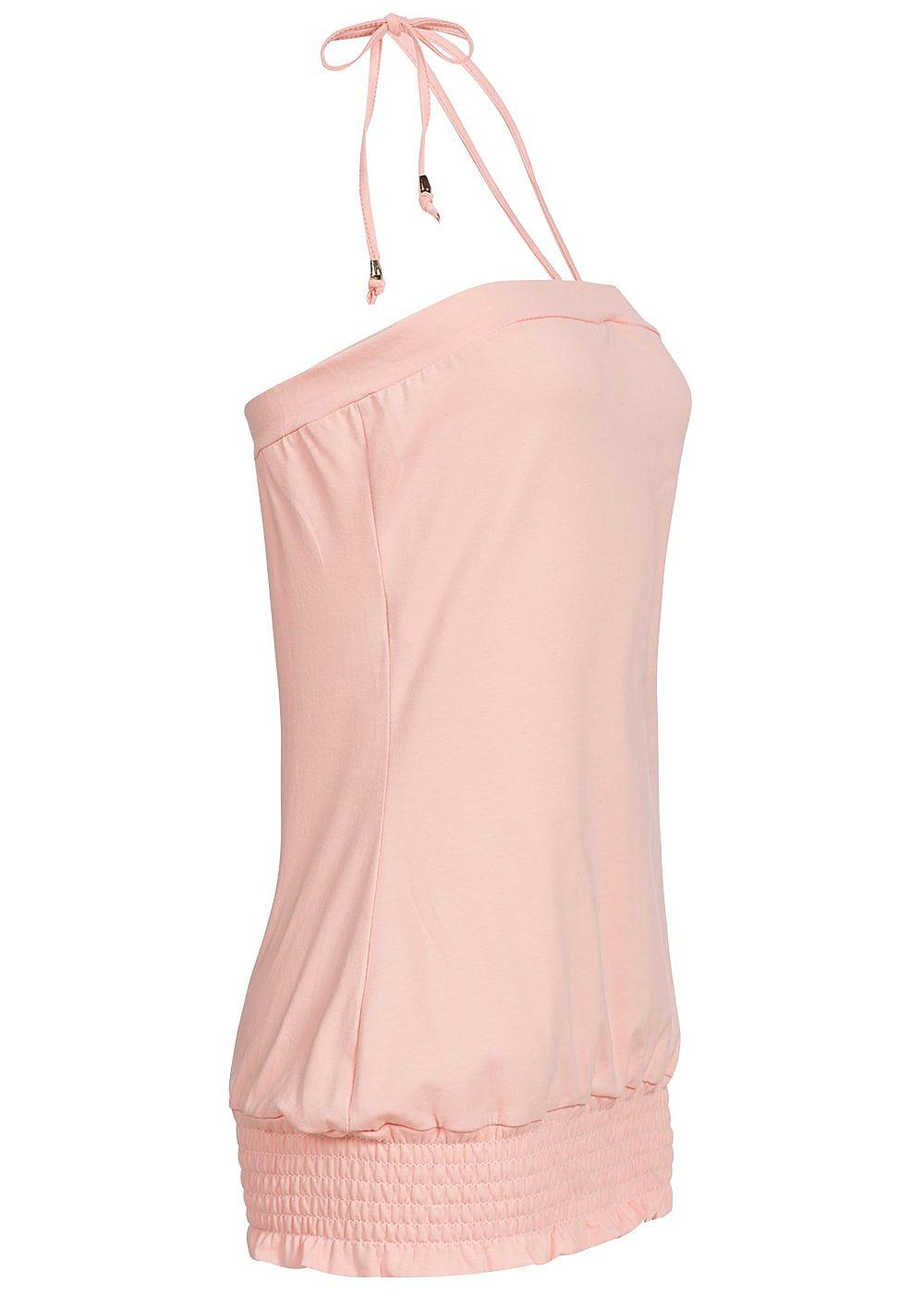 styleboom fashion damen neckholder top rosa 77onlineshop. Black Bedroom Furniture Sets. Home Design Ideas