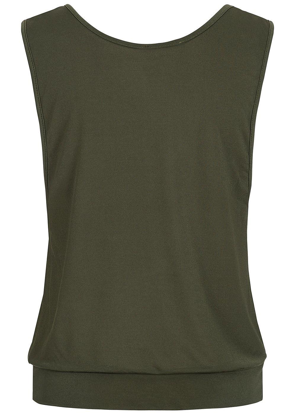 0ebbd487230019 Styleboom Fashion Damen Loose Tank Top Traumfänger Print military ...