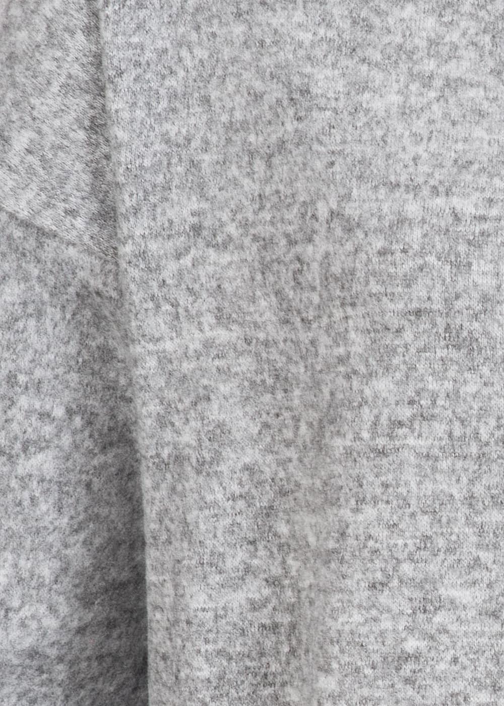 Seventyseven Lifestyle Damen Pullover Sweater grau melange