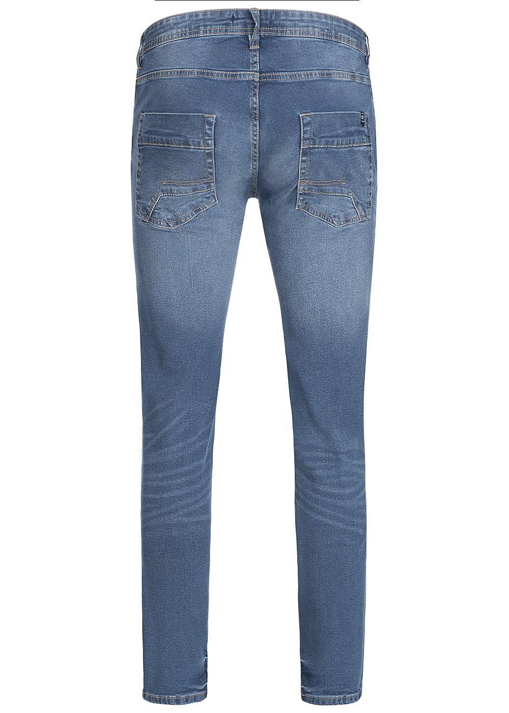 100d5f7896816a Hailys Men Regular Fit Jeans Hose 5-Pockets medium blau den ...