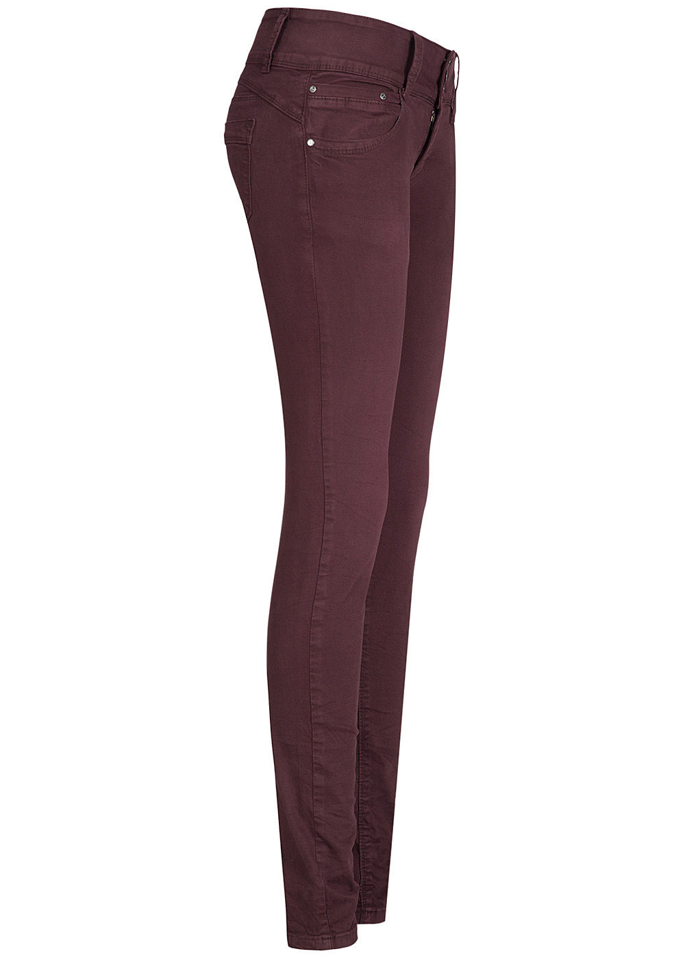 28e08e22eb42d9 Seventyseven Lifestyle Damen Jeans Hose 3er-Knopfleiste 5-Pockets ...
