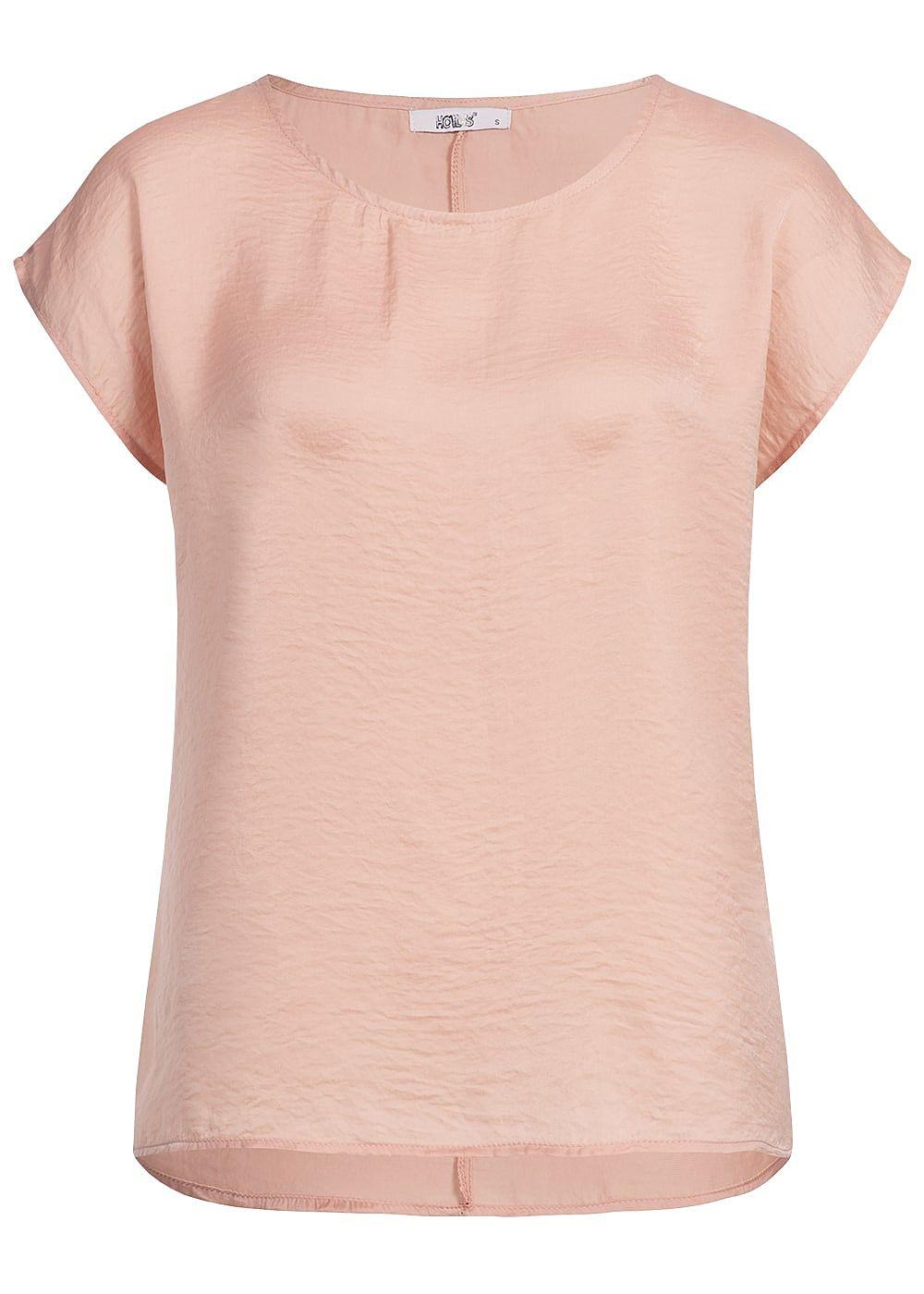8597f89687271f Hailys Damen Blusen Top rosa - 77onlineshop