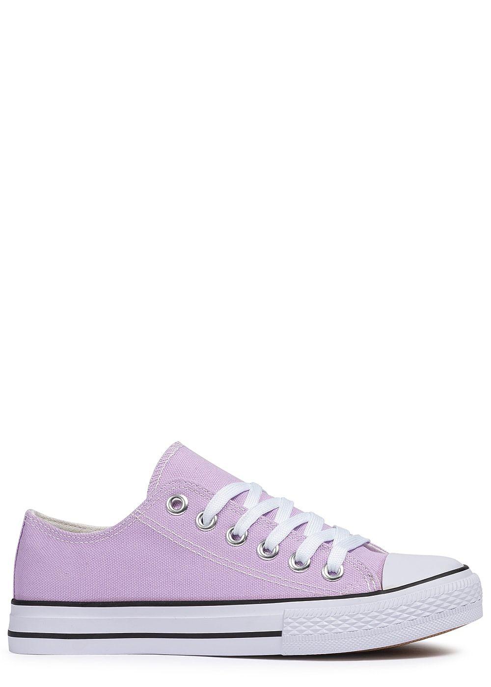 1c143091e3c513 Seventyseven Lifestyle Damen Schuh Canvas-Sneaker lila - 77onlineshop