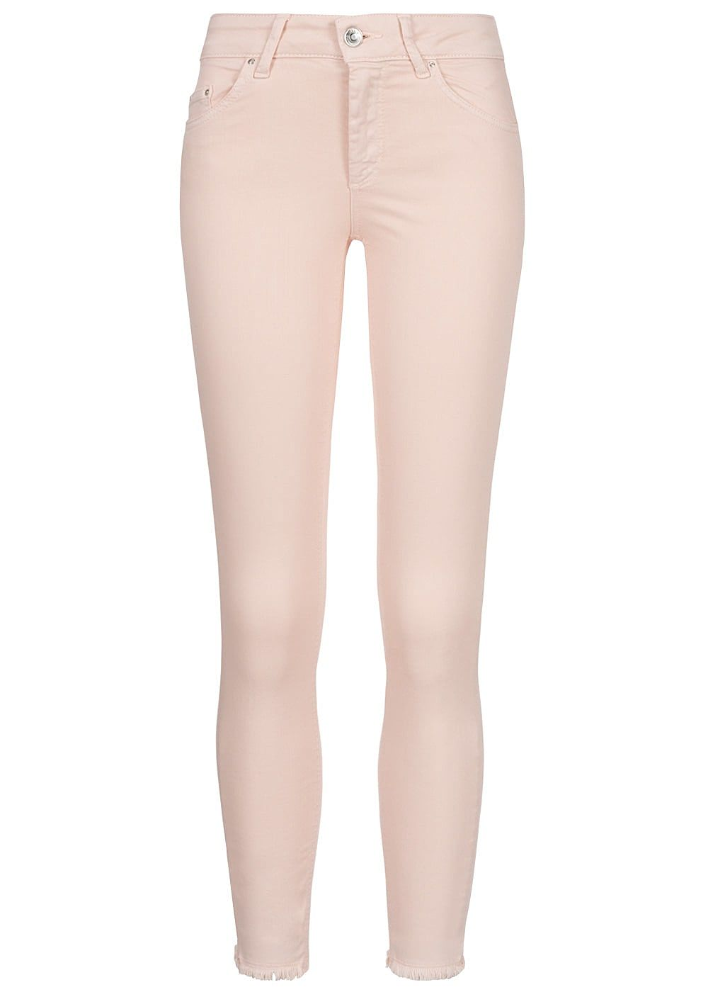 ONLY Damen Ankle Skinny Jeans 5-Pockets NOOS peach whip rosa - Art.-Nr.: 19020710