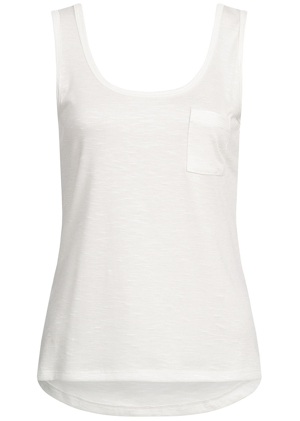 Hailys Damen Tank Top Breast Pocket weiss - Art.-Nr.: 19051901-XXL-WH