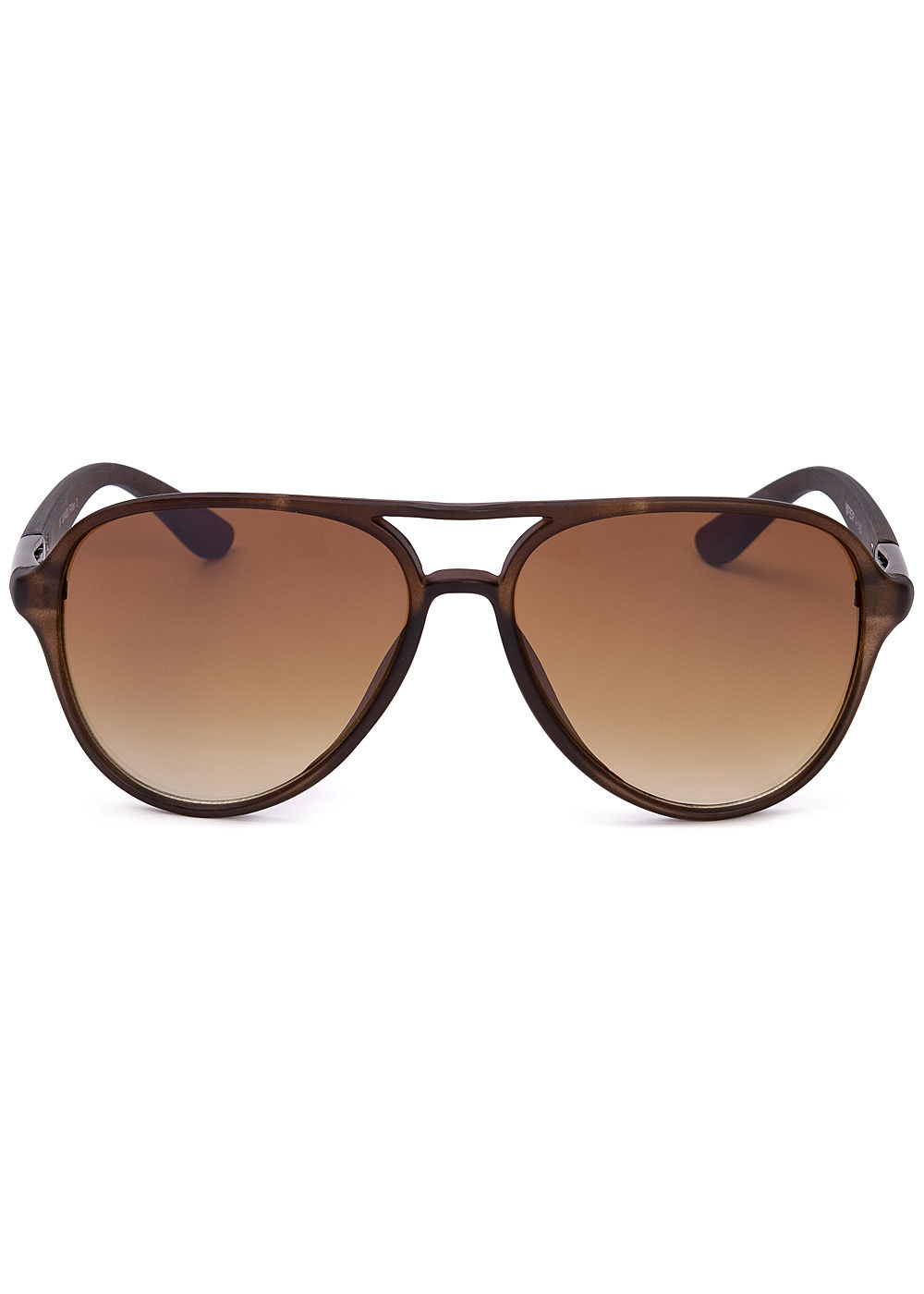 Seventyseven Lifestyle Unisex Retro Pilot Sunglasses Cat. 3 UV-400 Protection braun - Art.-Nr.: 19062427-OS-BR