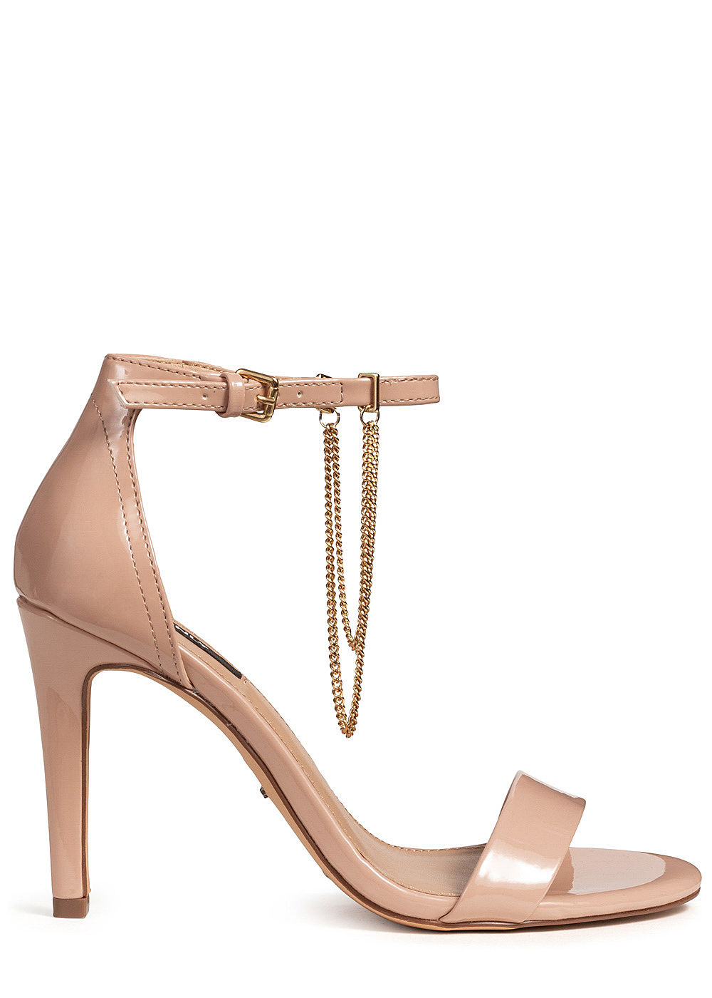 ONLY Damen Ankle Strap Peep Toe Pump nude rosa - Art.-Nr.: 19062581-37-RS