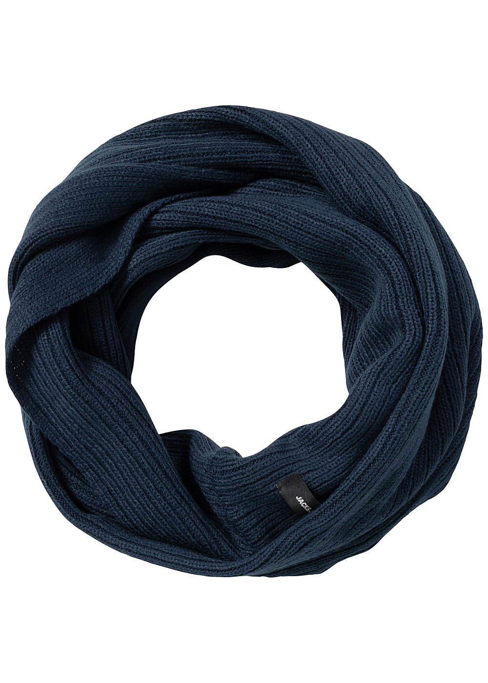 Jack and Jones Herren Knit Loop Scarf blazer navy blau - Art.-Nr.: 19083209-OS-NY