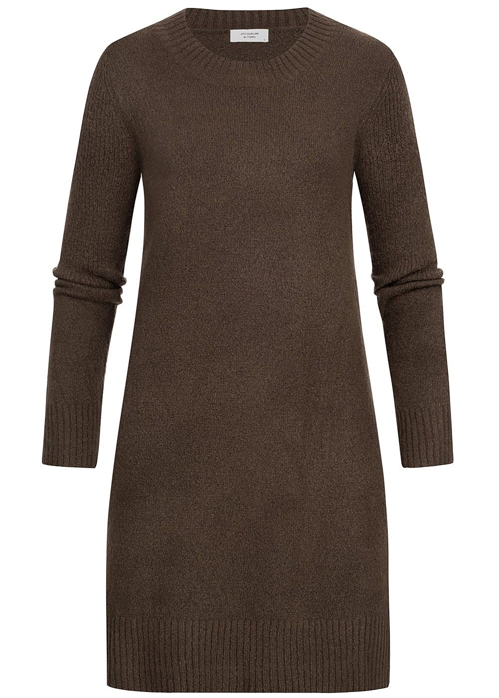JDY by ONLY Damen Knit Dress NOOS coffee bean braun - Art.-Nr.: 19083569