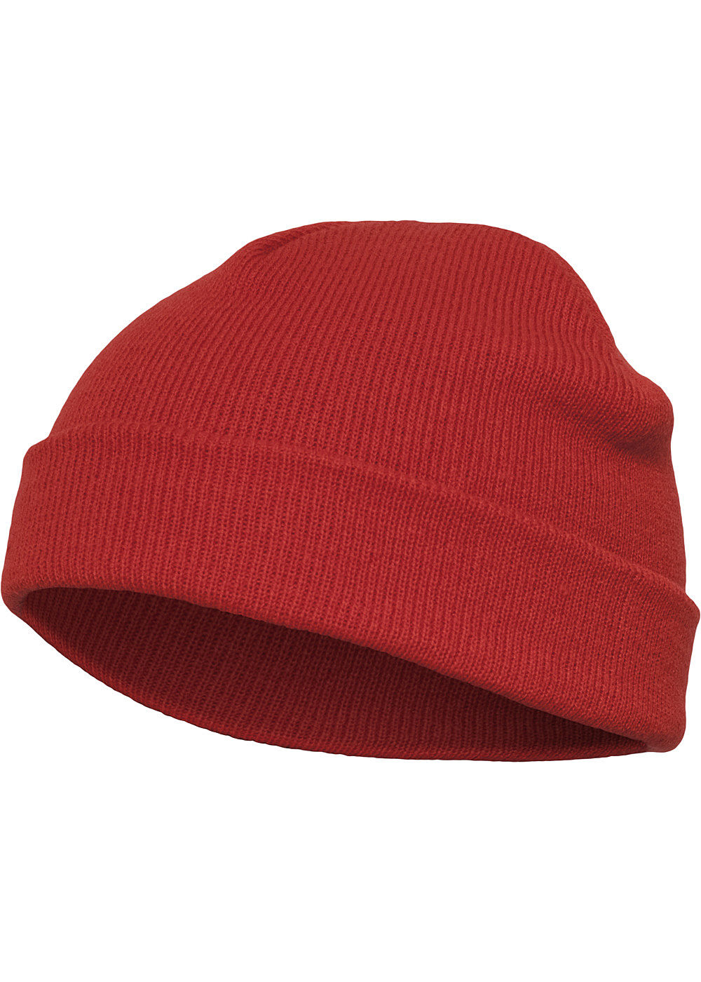 Seventyseven Lifestyle TB Basic Fisherman Beanie Strickmütze rot - Art.-Nr.: 19104580-OS-RE