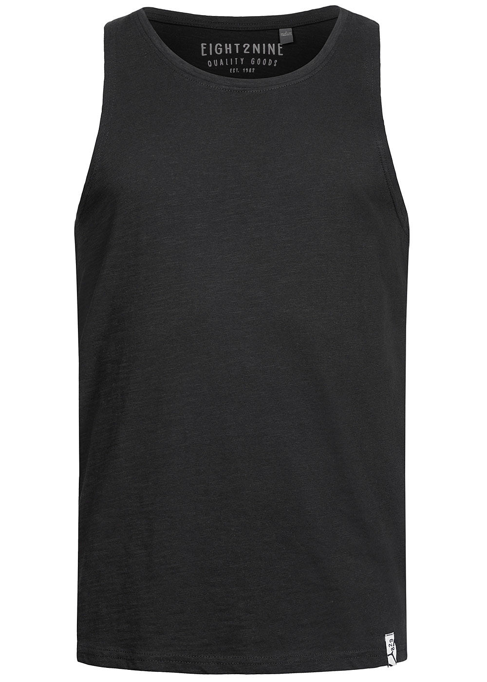 Eight2Nine Herren Tank Top schwarz - Art.-Nr.: 20031332