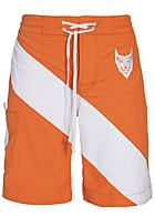 Montezuma Badehose SALE 1720649 mit Stickerei siam orange weiss