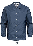 Eight2Nine  Men Button Down Windbreaker Jacket by Sublevel navy
