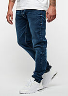 Hailys Men Regular Fit Jeans Hose 5-Pockets dunkel blau den