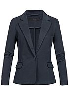 Vero Moda Damen Denim Blazer 2-Pockets NOOS total eclipse blau