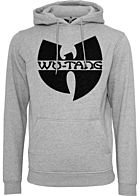 Wu Wear TB Herren Hoodie Wu-Tang Logo heather grau