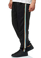 Seventyseven Lifestyle TB Herren Multi Striped Pants 2-Pockets schwarz multicolor