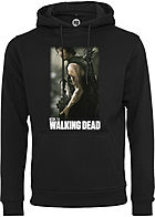 Merchcode TB Herren Hoodie The Walking Dead Gun Print schwarz