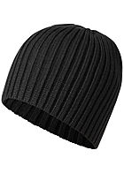 Jack and Jones Herren Knit Beanie schwarz