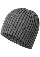 Jack and Jones Herren Knit Beanie dunkel grau melange