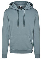 Seventyseven Lifestyle TB Herren Basic Sweat Hoodie dusty blau