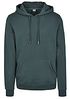 Seventyseven Lifestyle TB Herren Basic Sweat Hoodie bottle gr�n