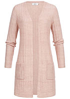 ONLY Damen Basic Knit Cardigan adobe rosa
