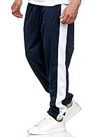Seventyseven Lifestyle TB Herren Panel Sweatpants 2-Pockets navy blau weiss