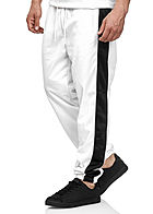 Seventyseven Lifestyle TB Herren Panel Sweatpants 2-Pockets weiss schwarz