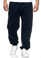 Seventyseven Lifestyle TB Herren Basic Sweatpants 3-Pockets navy blau