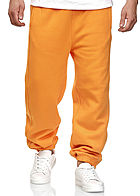 Seventyseven Lifestyle TB Herren Basic Sweatpants 3-Pockets orange